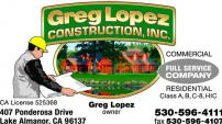 Greg Lopez Construction, Inc.