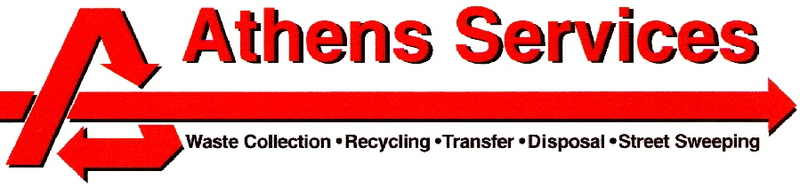 Athens Services - Waste Collection, Recycling,  Transfer, Disposal and Street Sweeping