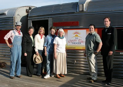 Open Eye Theater's Trip on the Rails