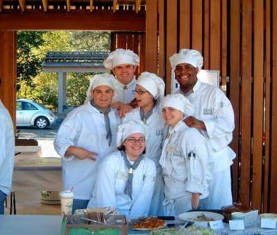 Student Chefs at Cauliflower Festival