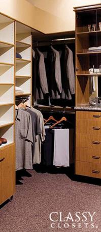 Classy Closets Designs Are The Definition Of Custom. You Name It, We Can Do  It. No Matter How Outrageous Your Dream For Your Custom Closet Is, ...
