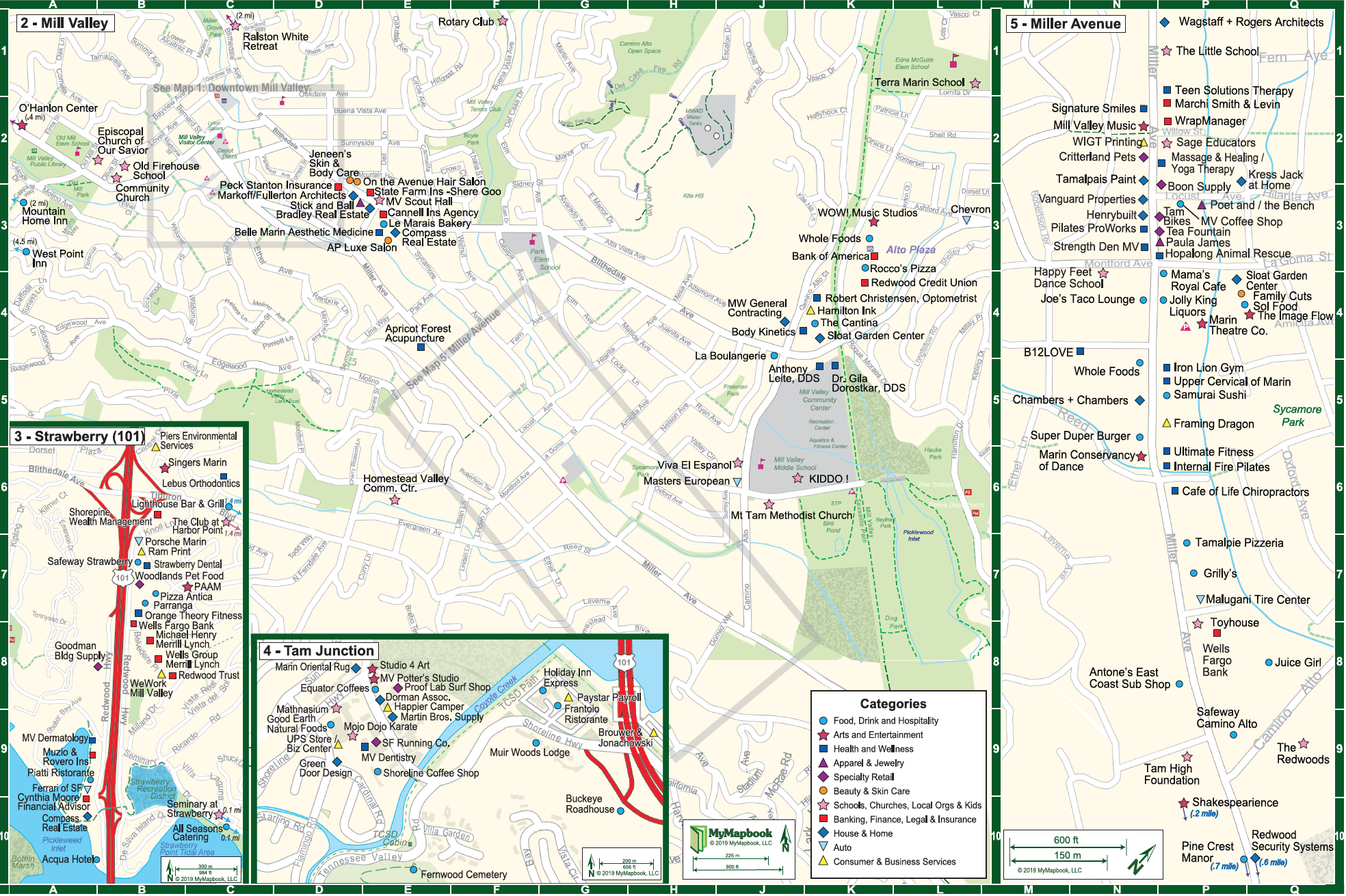 Map - Enjoy Mill Valley