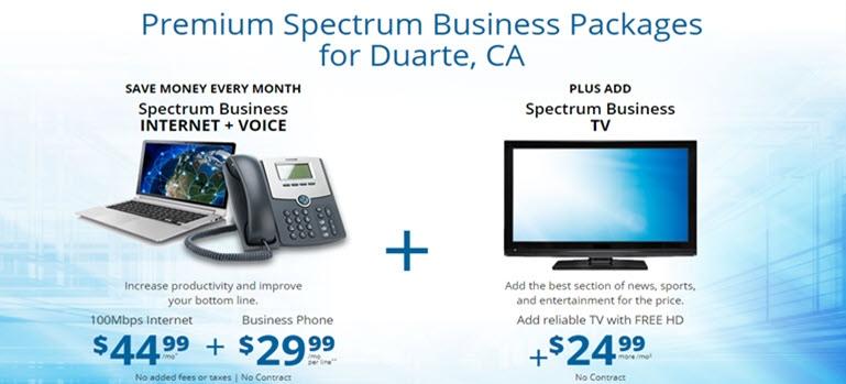Spectrum Business Irwindale Ca