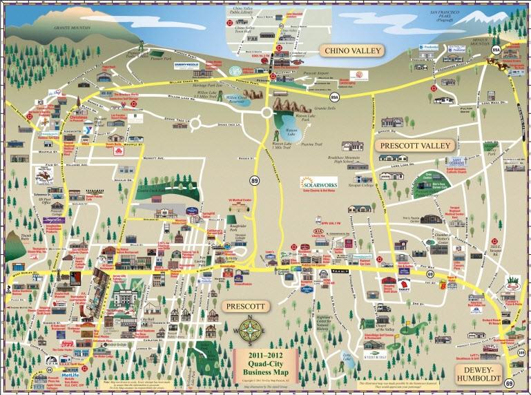 Tri City Map, LLC   Prescott, AZ