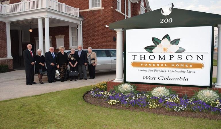 Thompson Funeral Home Lexington Sc